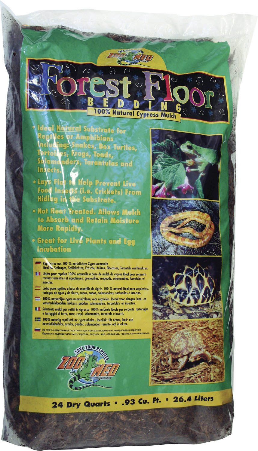 Zoo Med Forest Floor Natural Cypress Mulch Reptile Bedding Image
