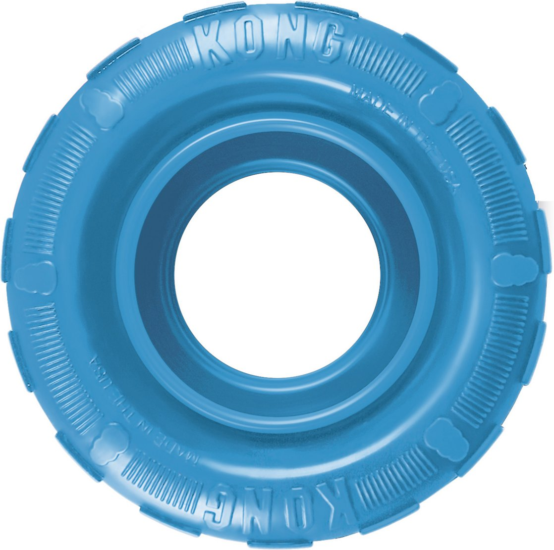 KONG Puppy Tires Dog Toy, Color Varies Image