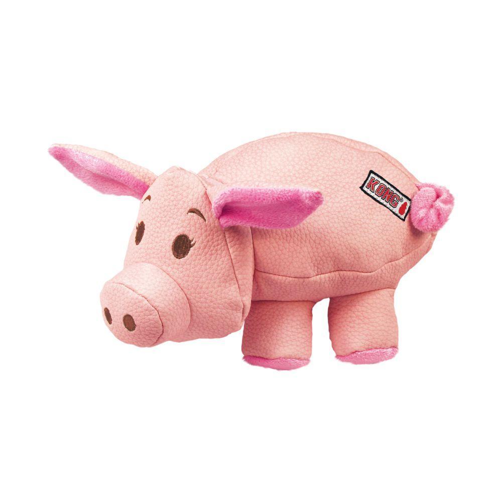 KONG Phatz Pig Dog Toy, Small
