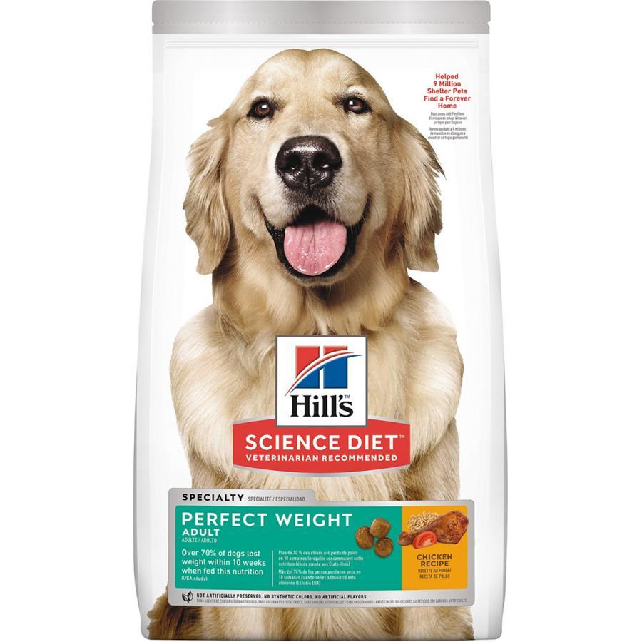 Hill's Science Diet Adult Perfect Weight Dry Dog Food, 28.5-lb bag
