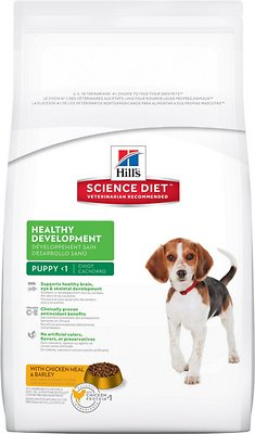 Hill's Science Diet Puppy Healthy Development with Chicken Meal & Barley Recipe Dry Dog Food, 4.5-lb bag