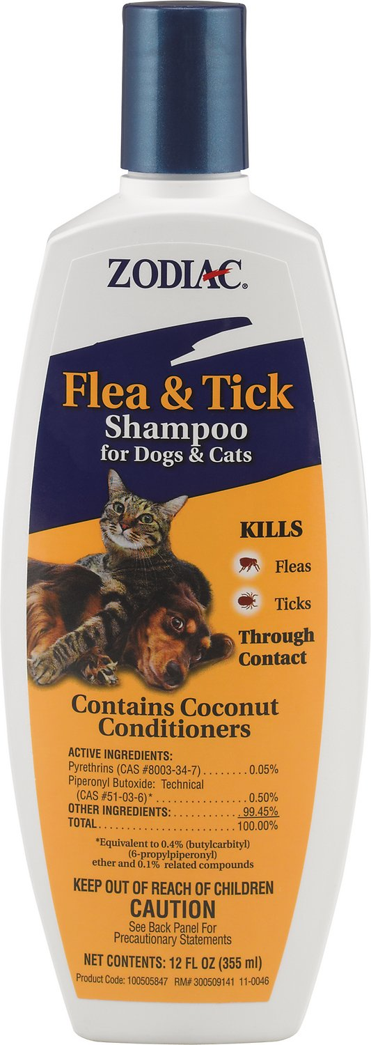 Zodiac Flea & Tick Shampoo for Dogs & Cats Image