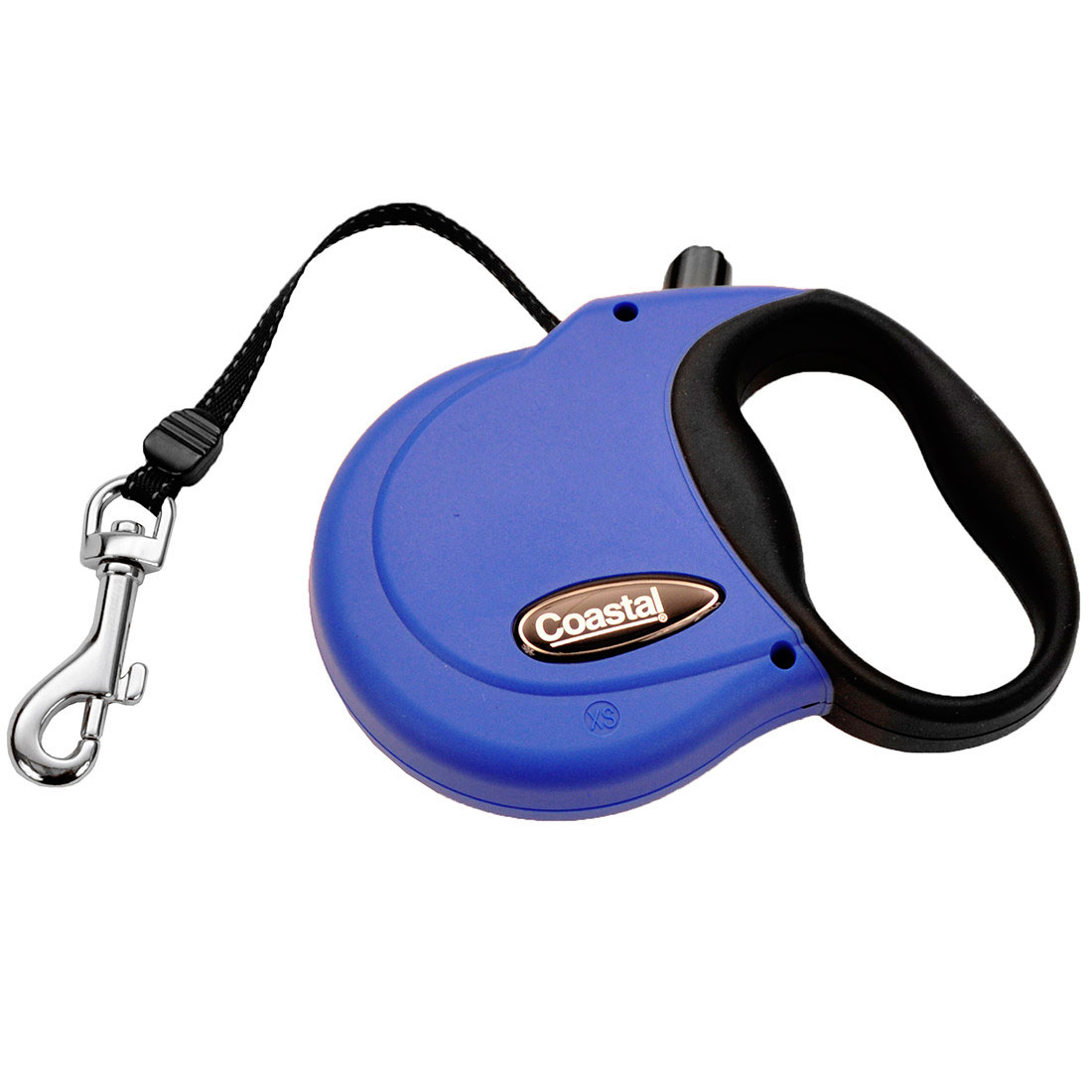 Coastal Power Walker Retractable Dog Leash, Blue, Large, 16-in