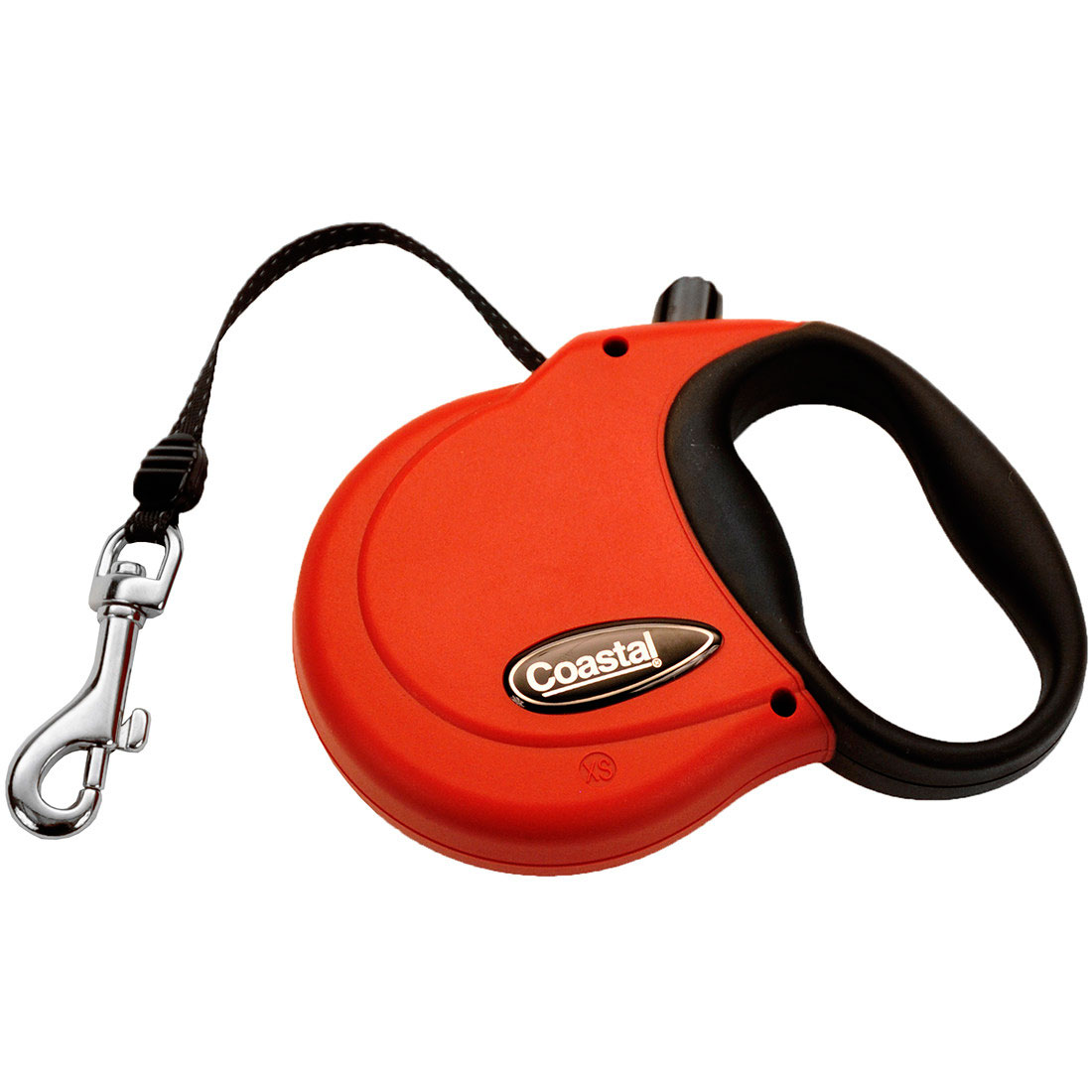 Coastal Power Walker Retractable Dog Leash, Red, X-Small, 12-in
