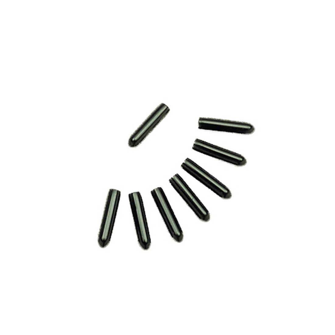 Coastal Titan Vinyl Comfort Tips for Dog Prong Training Collars, Black, 3.3-mm