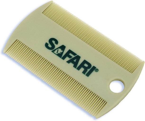 Safari Double-Sided Cat Flea Comb