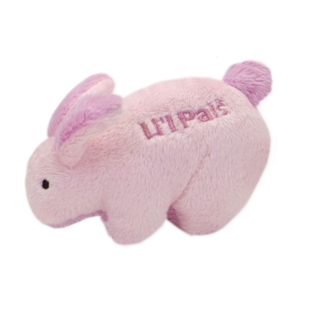 Li'l Pals Rabbit Plush Dog Toy, 4.5-in