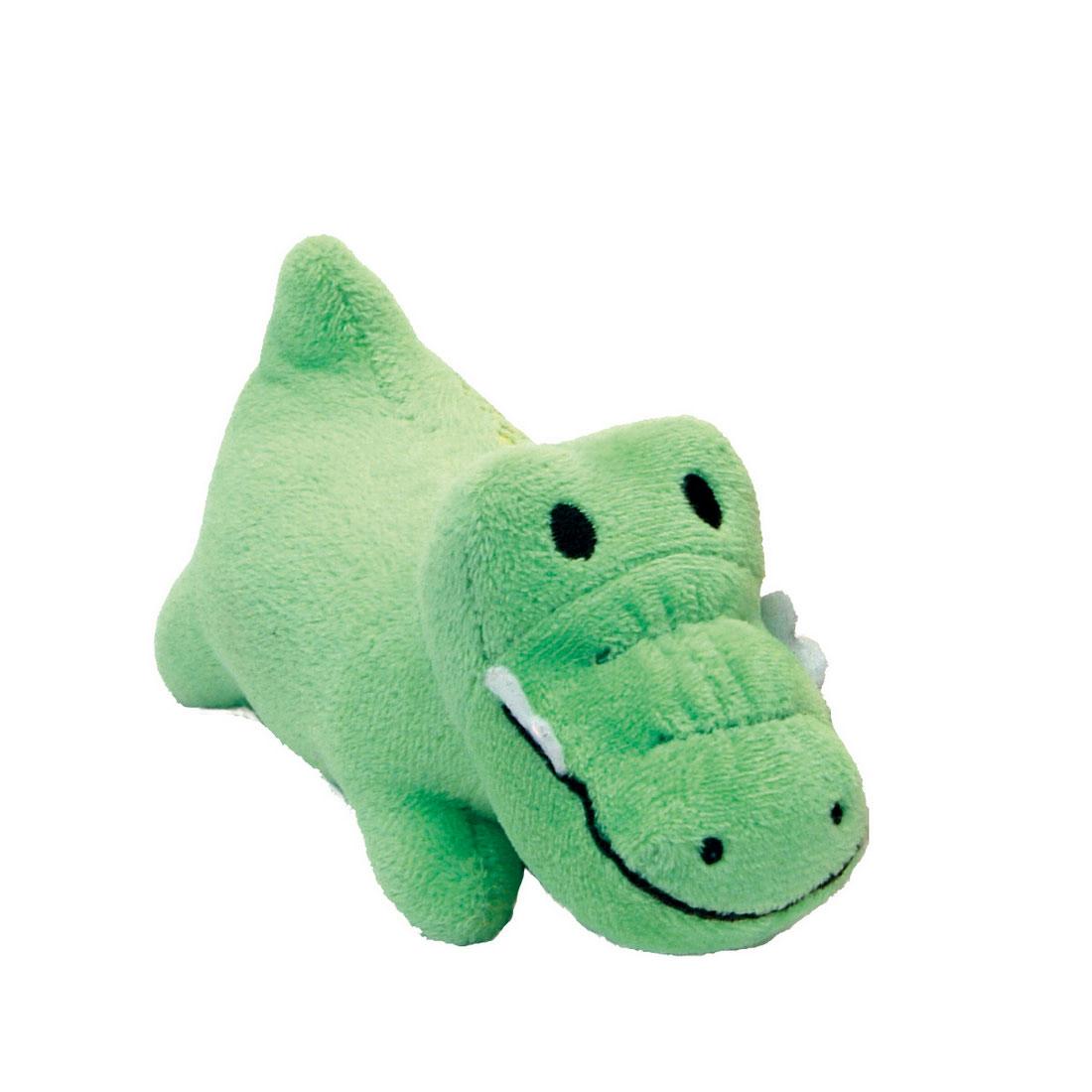 Li'l Pals Gator Plush Dog Toy, 4.5-in