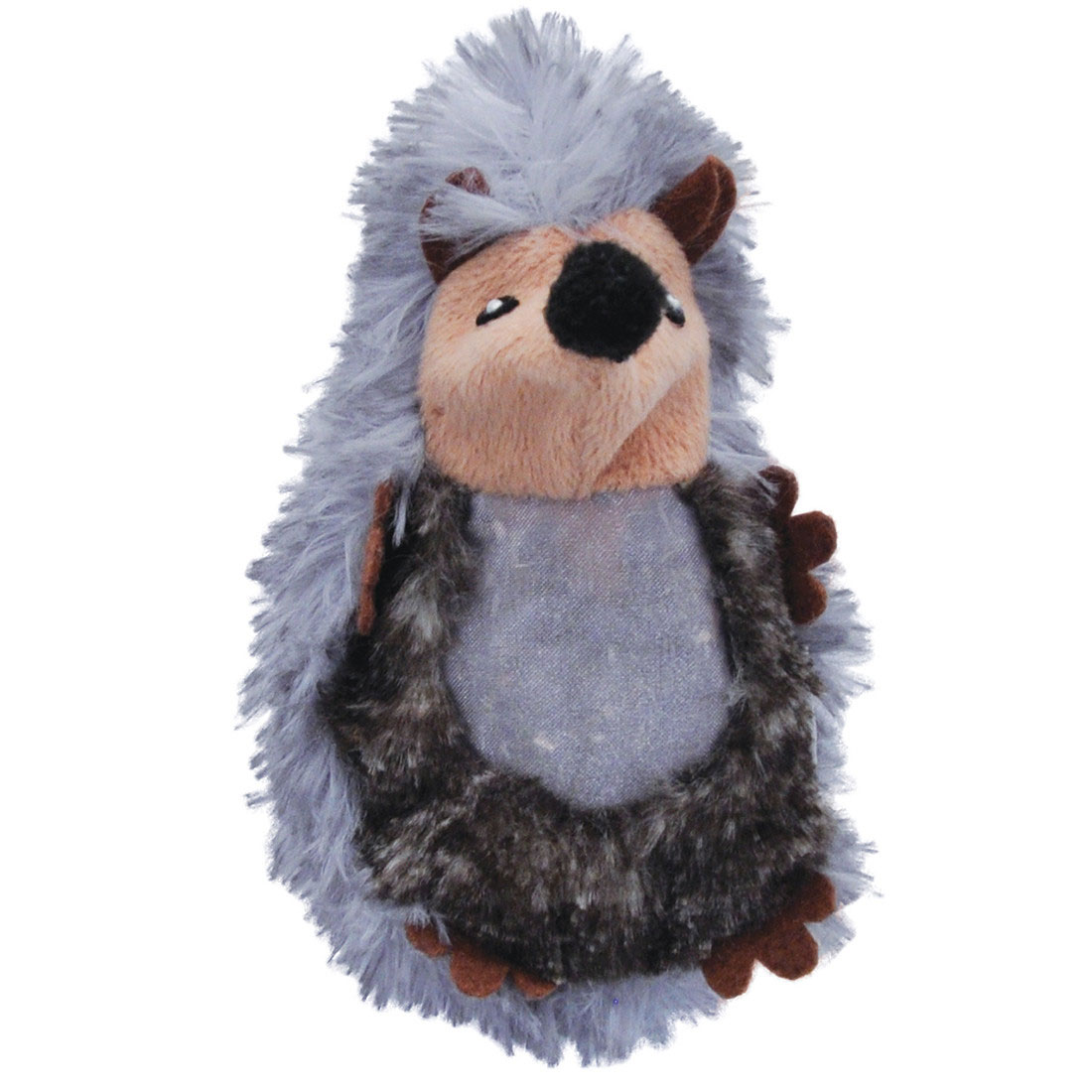 Turbo Catnip Belly Critters Hedgehog Cat Toy