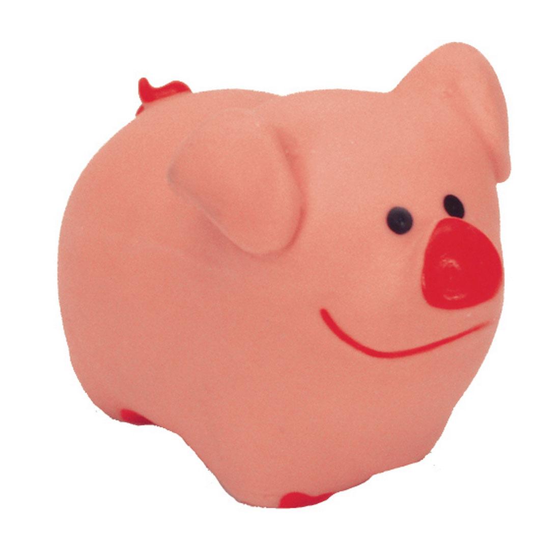 Li'l Pals Latex Pig Dog Toy, 3-in
