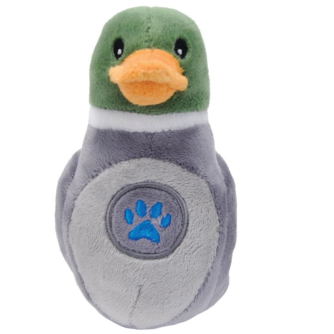 Li'l Pals Paw Duck Plush Dog Toy, 5-in