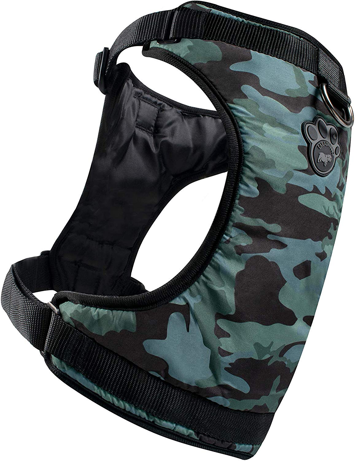 Canada Pooch The Everything Water-Resistant Dog Harness, Camo, Large