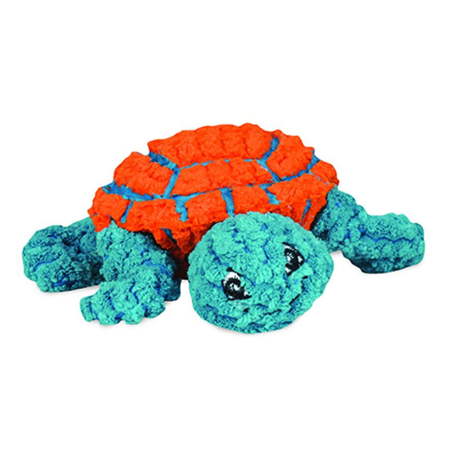 HuggleHounds Ruff-Tex Dude the Turtle Plush Dog Toy