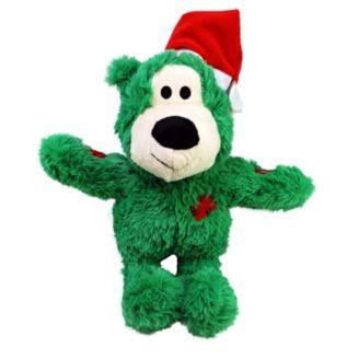 KONG Holiday Wild Knots Bear Dog Toy, Medium/Large