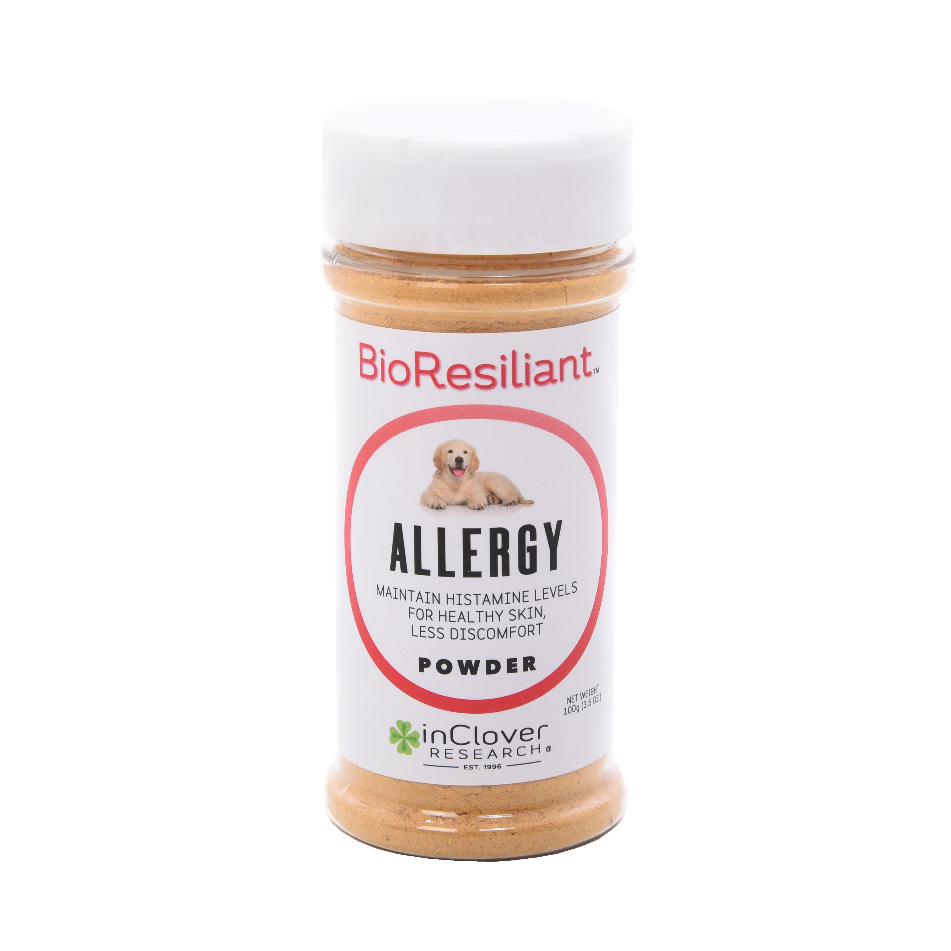 inClover BioResiliant Allergy Powder Dog Supplement, 3.5-oz