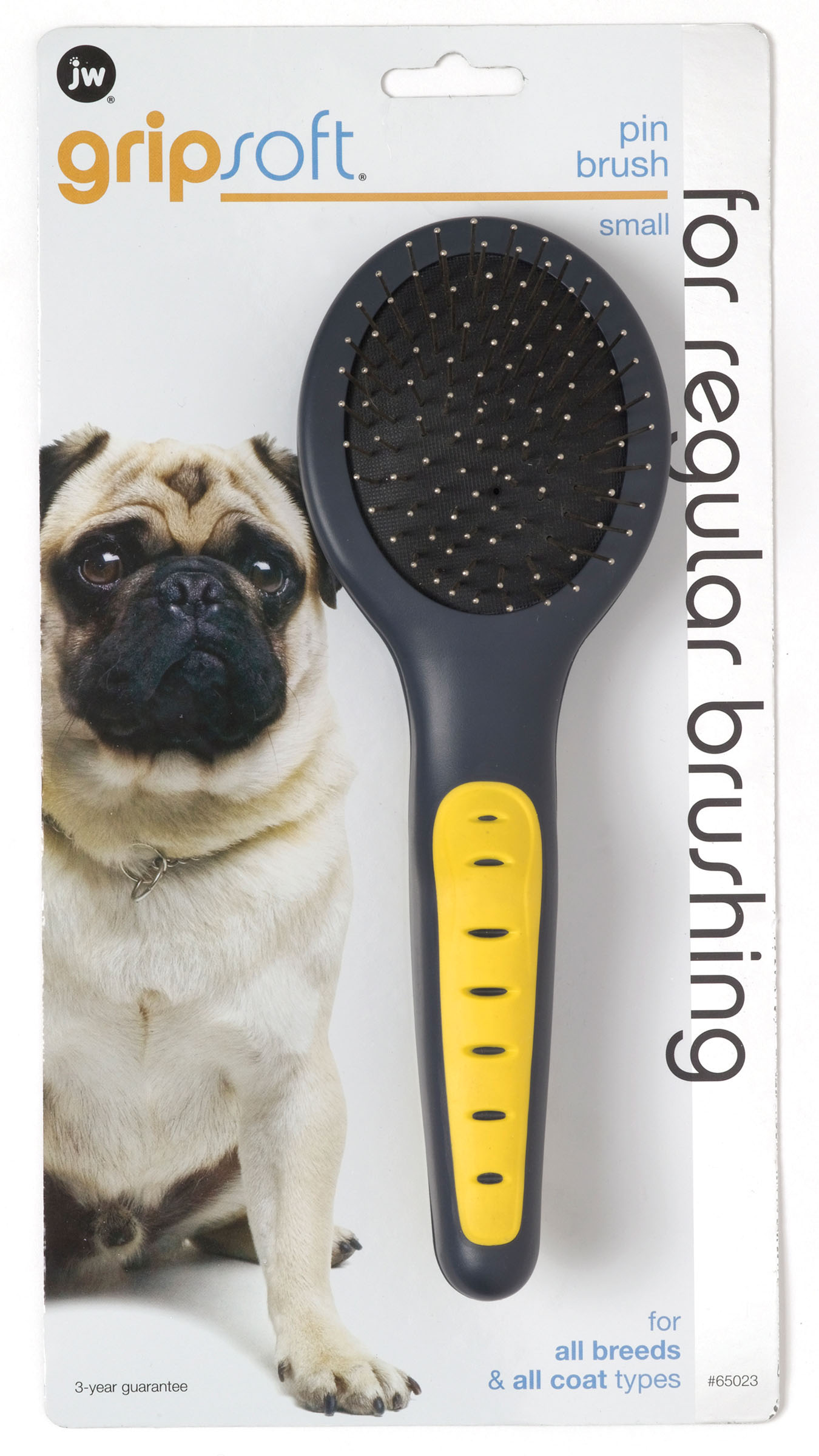 JW Pet Gripsoft Small Pin Brush