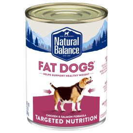 Natural Balance Targeted Nutrition Fat Dogs Wet Dog Food Image