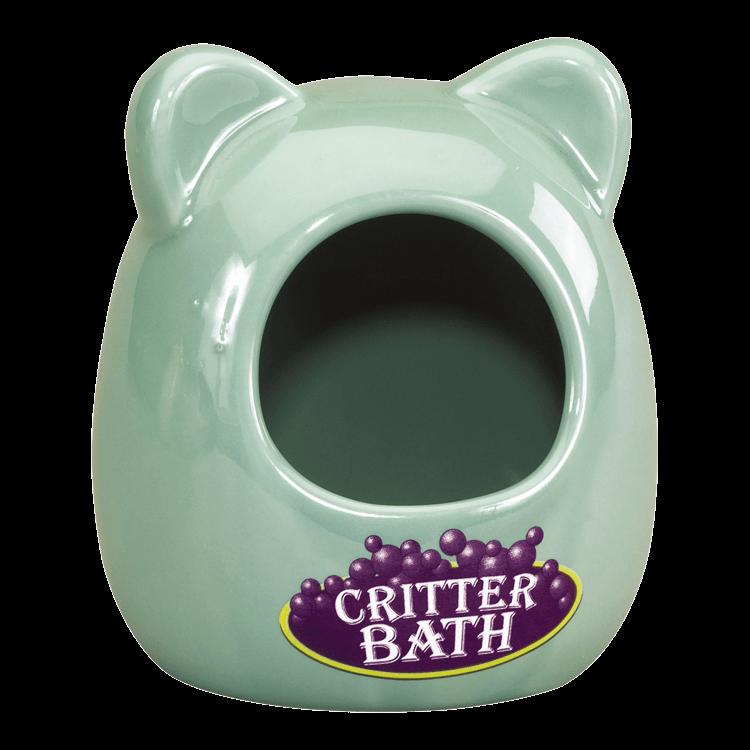 Kaytee Ceramic Critter Small Animal Bath, Small