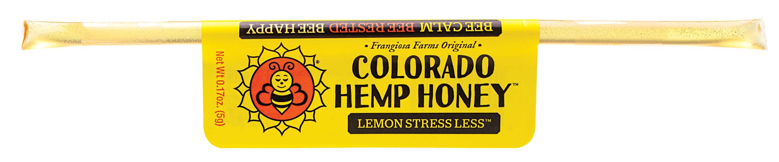 Colorado Honey Lemon Stress Less FS Extract Sticks Image