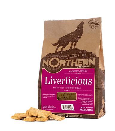 Northern Biscuit Liverlicious Dog Treats, 500-gram
