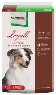 Nutrena Loyall Active All Life Stages Dry Dog Food, 40-lb