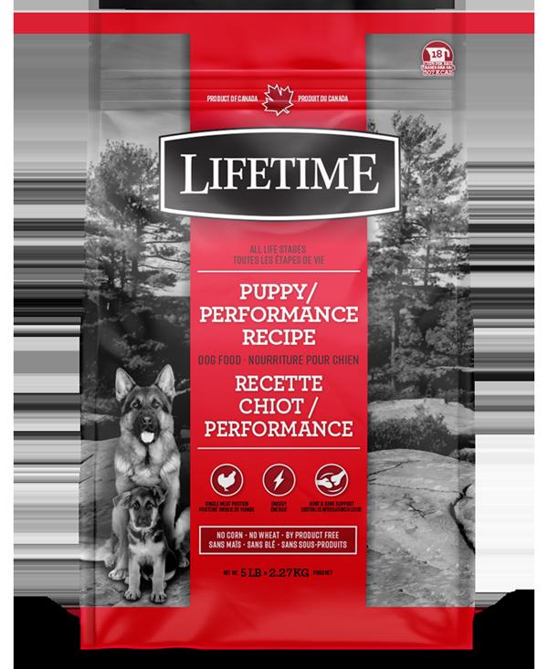 Lifetime ALS Puppy/Performance Recipe Dry Dog Food, 11.4-kg