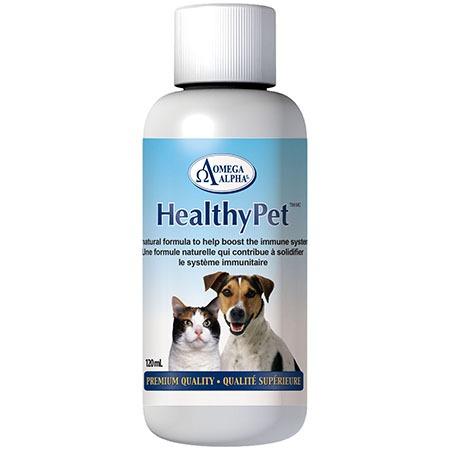Omega Alpha HealthyPet Premium Quality Pet Supplement, 120-mL