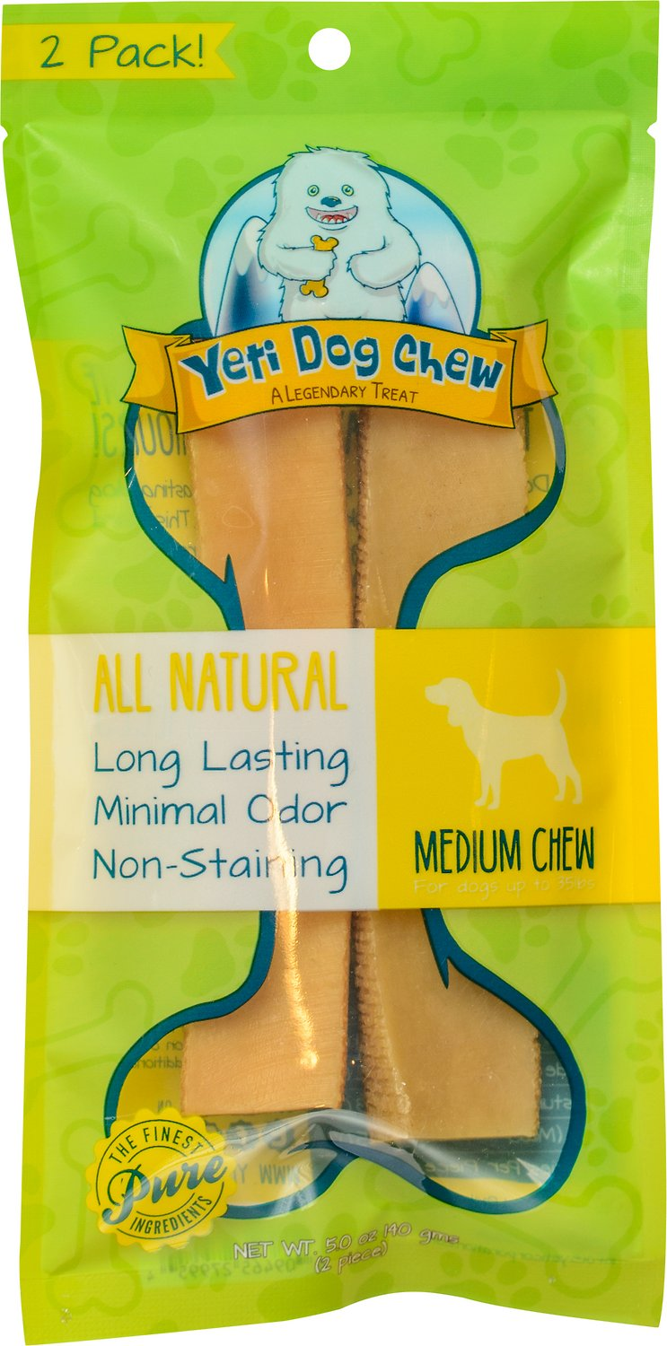 Yeti Dog Chew Medium Himalayan Cheese Packaged Dog Treats, 2-count (Size: 2-count) Image