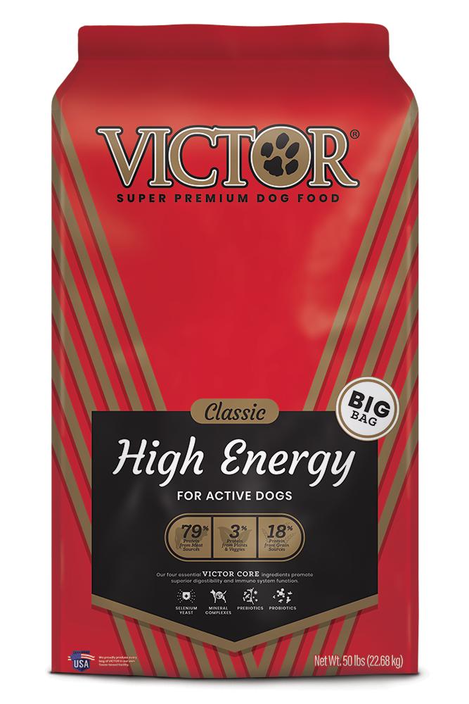Victor High Energy Formula Dry Dog Food, 40-lb bag