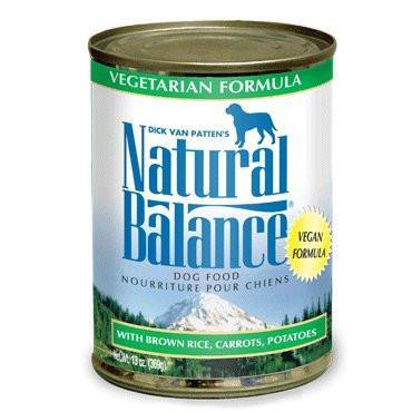 Natural Balance Vegetarian Formula Canned Dog Food, 13-oz, case of 12