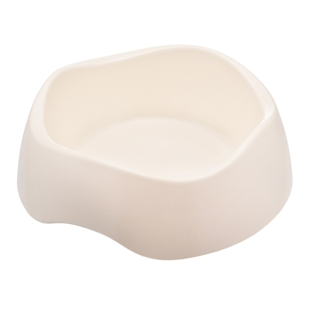 Beco Bamboo Dog & Cat Bowl, Natural, Large, 10.3-in