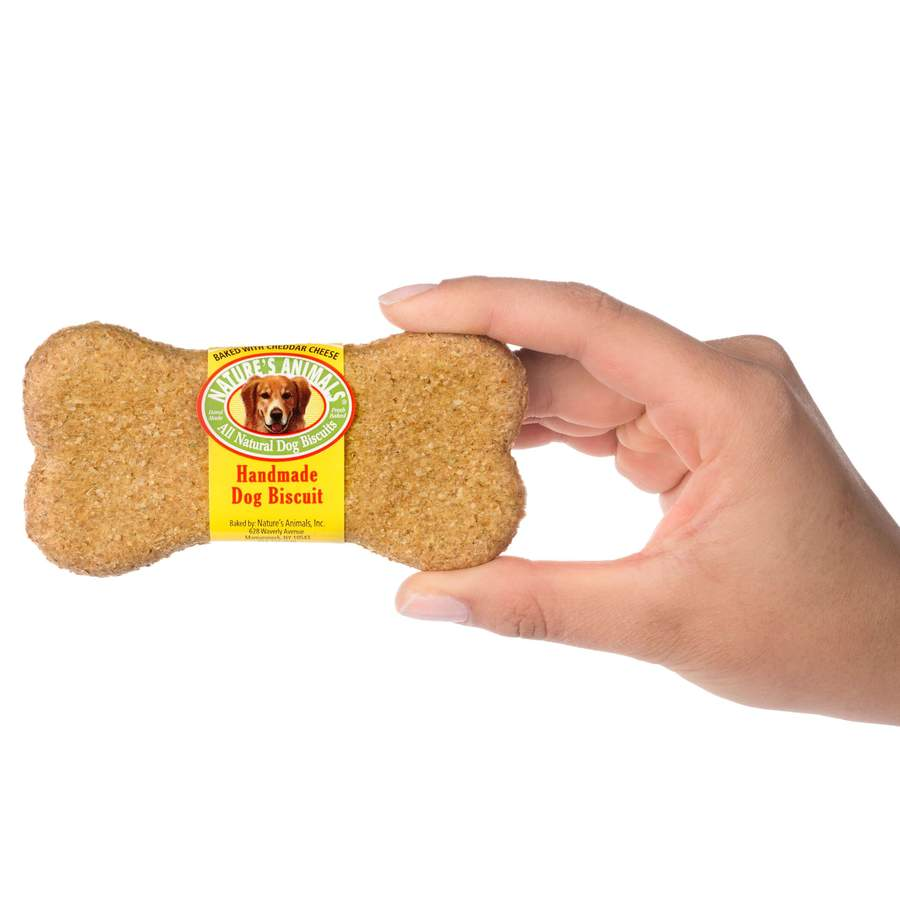 Nature's Animals Original Bakery Biscuits with Cheddar Cheese Dog Treats Image