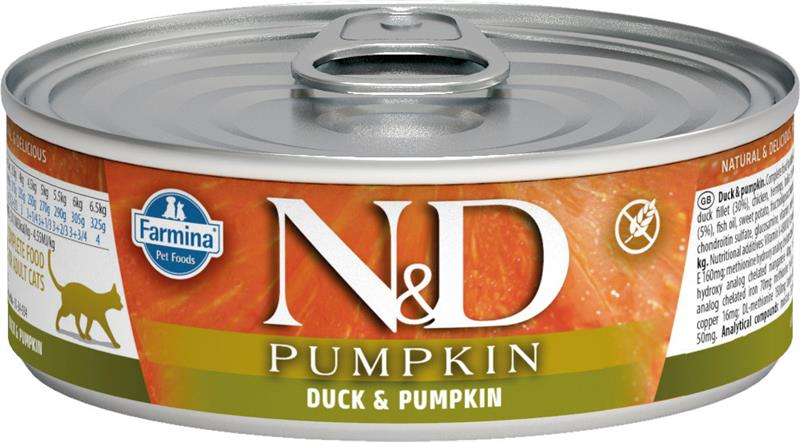 Farmina N&D Pumpkin Duck & Cantaloupe Wet Cat Food, 2.8-oz