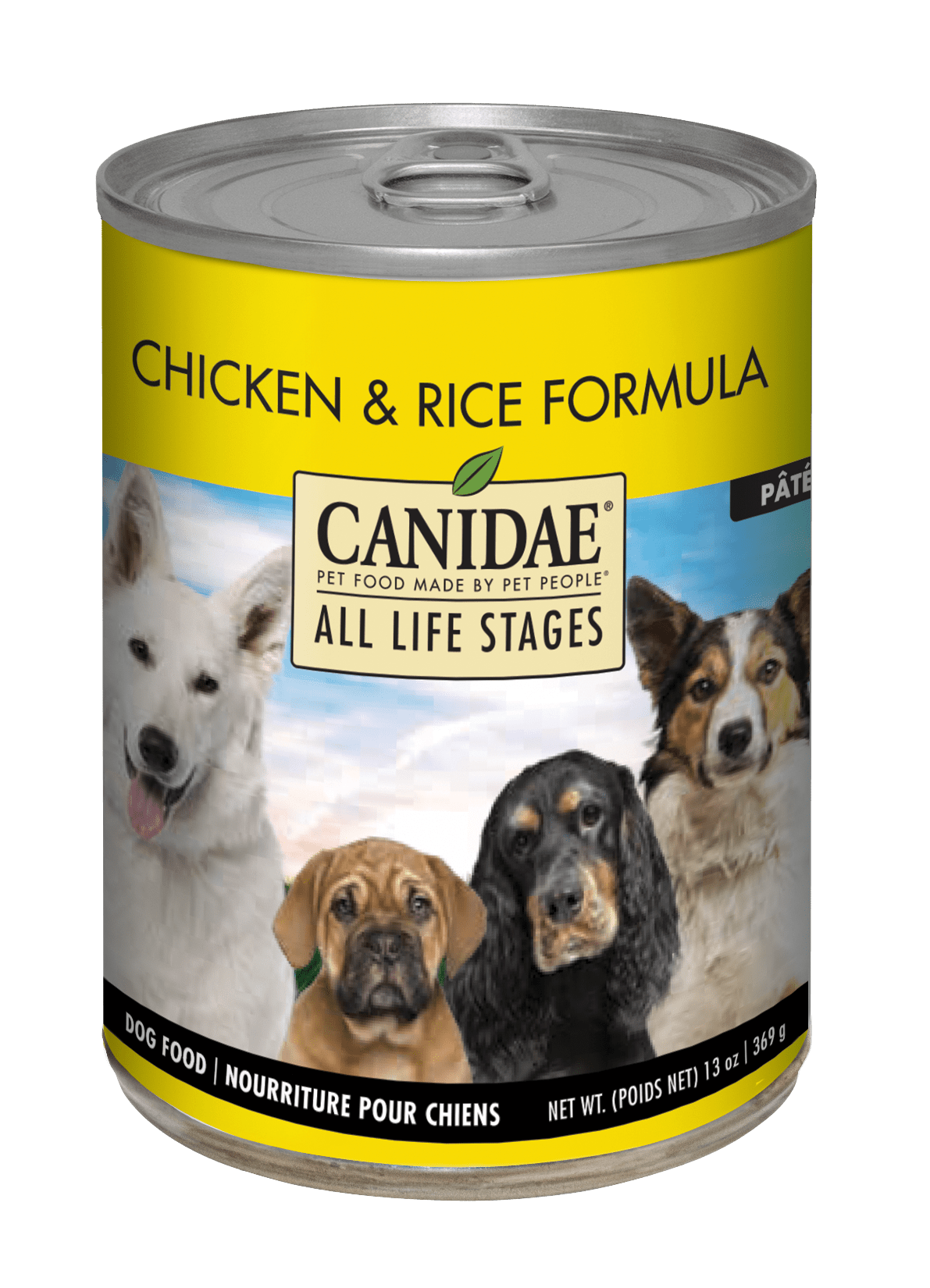 Canidae Life Stages Chicken & Rice Formula Canned Dog Food, 13-oz