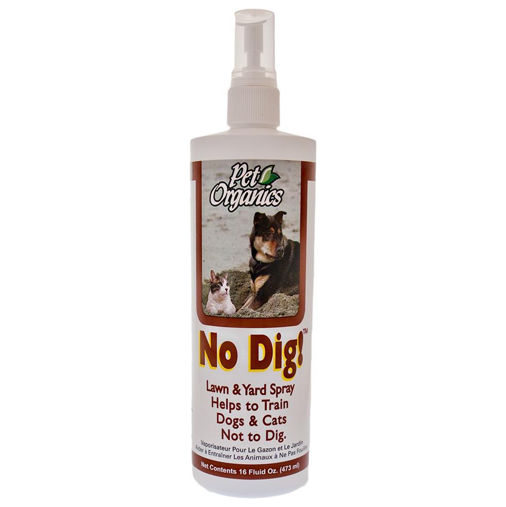 NaturVet Pet Organics No Dig! Lawn & Yard Spray for Dogs & Cats, 16-oz bottle