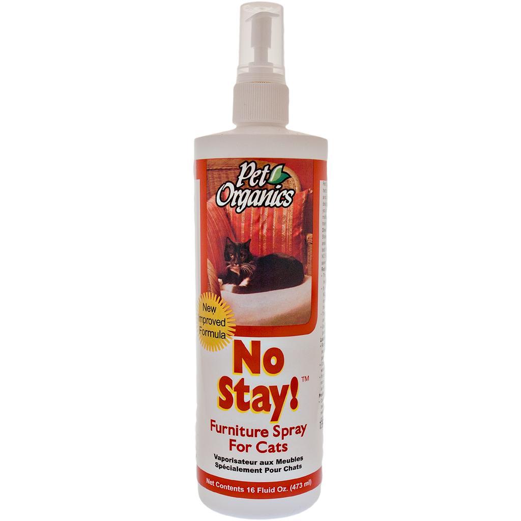 NaturVet Pet Organics No Stay! Furniture Spray for Cats, 16-oz bottle Image