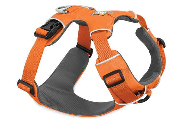 Ruffwear Front Range Dog Harness, Orange Poppy, Large/X-Large (32-42-in)