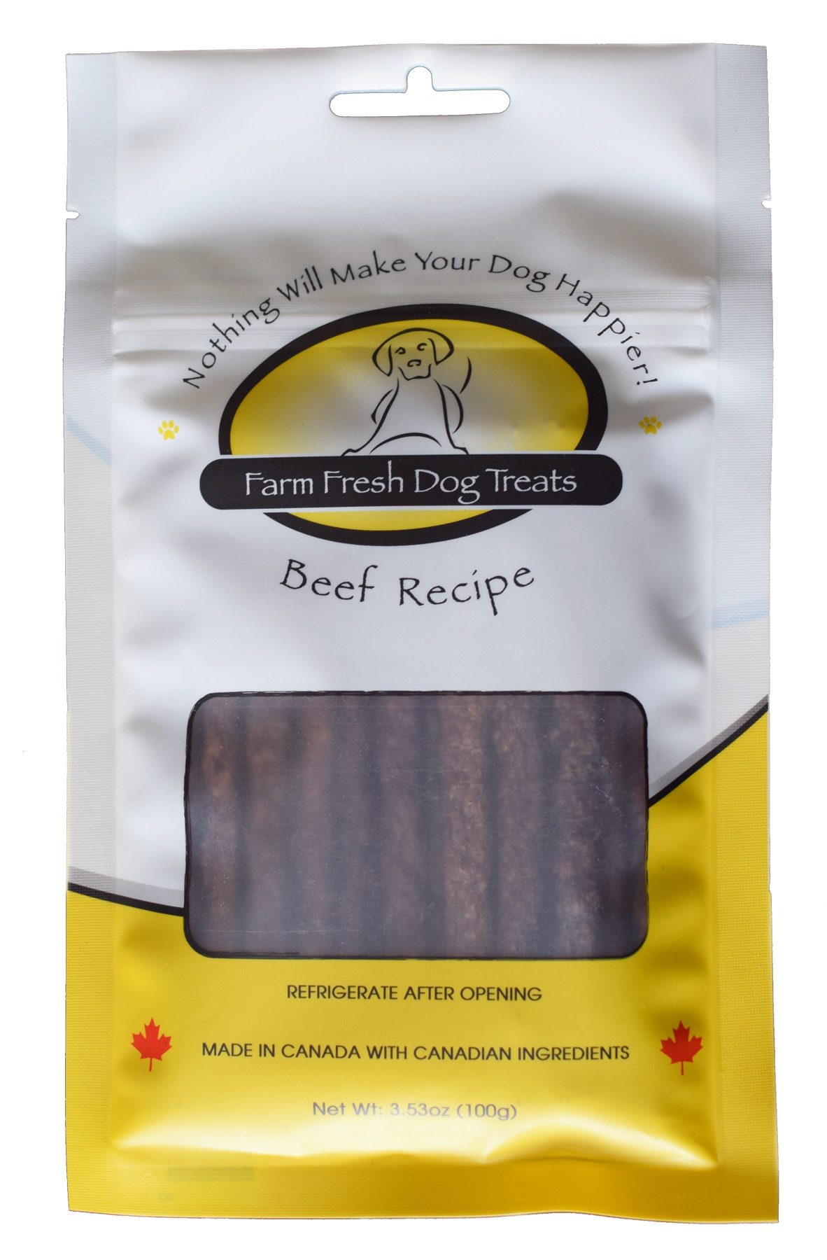 Farm Fresh Beef Dog Treats, 3.53-oz