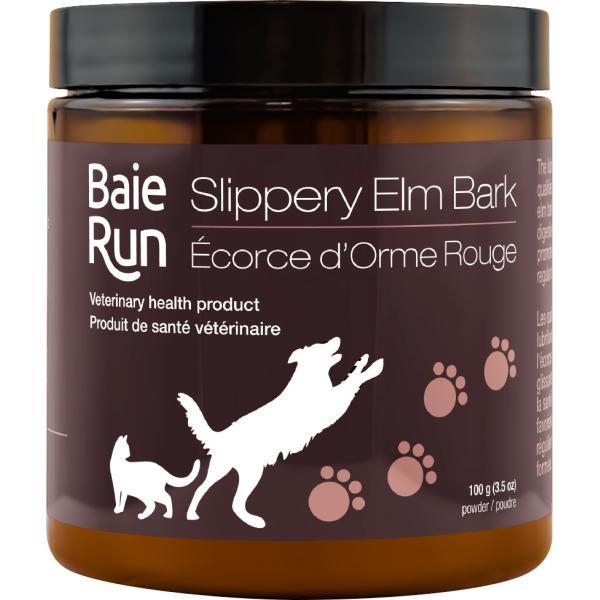Baie Run Slippery Elm Bark Cat & Dog Supplement, 100-gram (Size: 100-gram) Image
