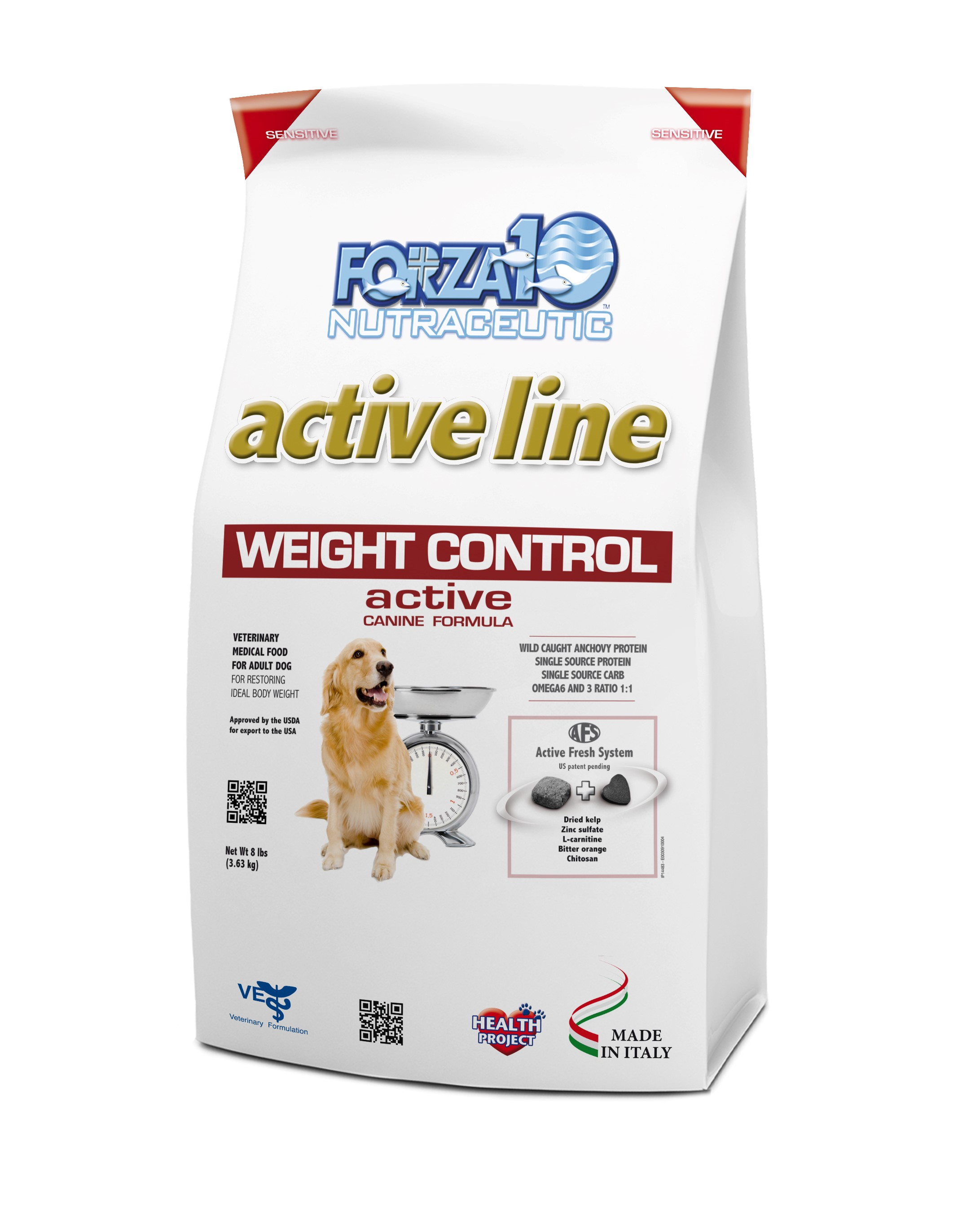 Forza10 Active Line Weight Control Active Line Dry Dog Food, 8-lb