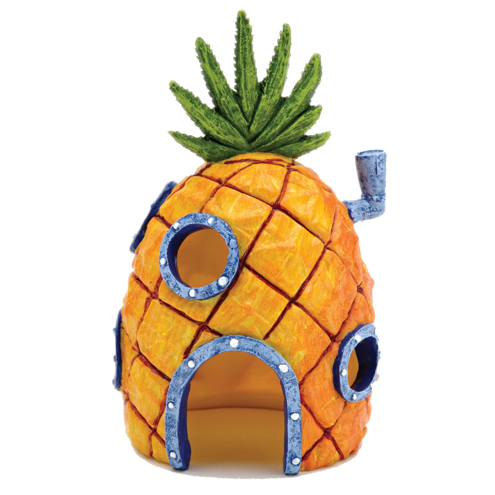 Penn-Plax SpongeBob Pineapple Home Aquarium Ornament, 6.5-in Image