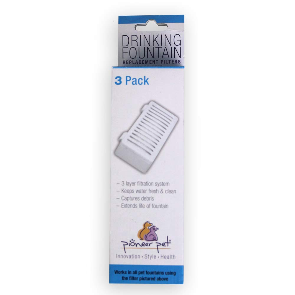 Pioneer Pet Crate Drinking Fountain T-shaped Filter