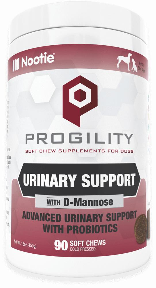 Nootie Progility Urinary Support Soft Chew Supplements for Dogs, 90-count
