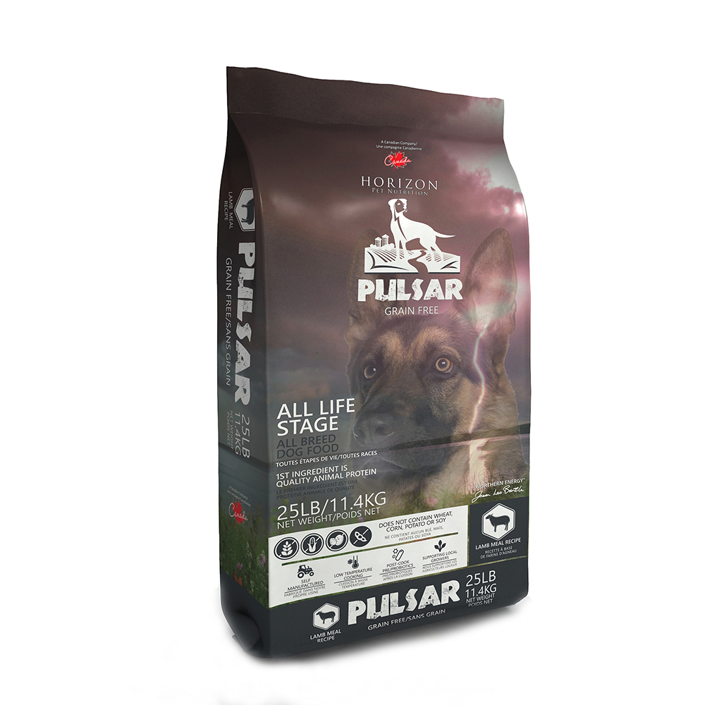 Horizon Pulsar Lamb Formula Grain-Free Dry Dog Food, 25-lb