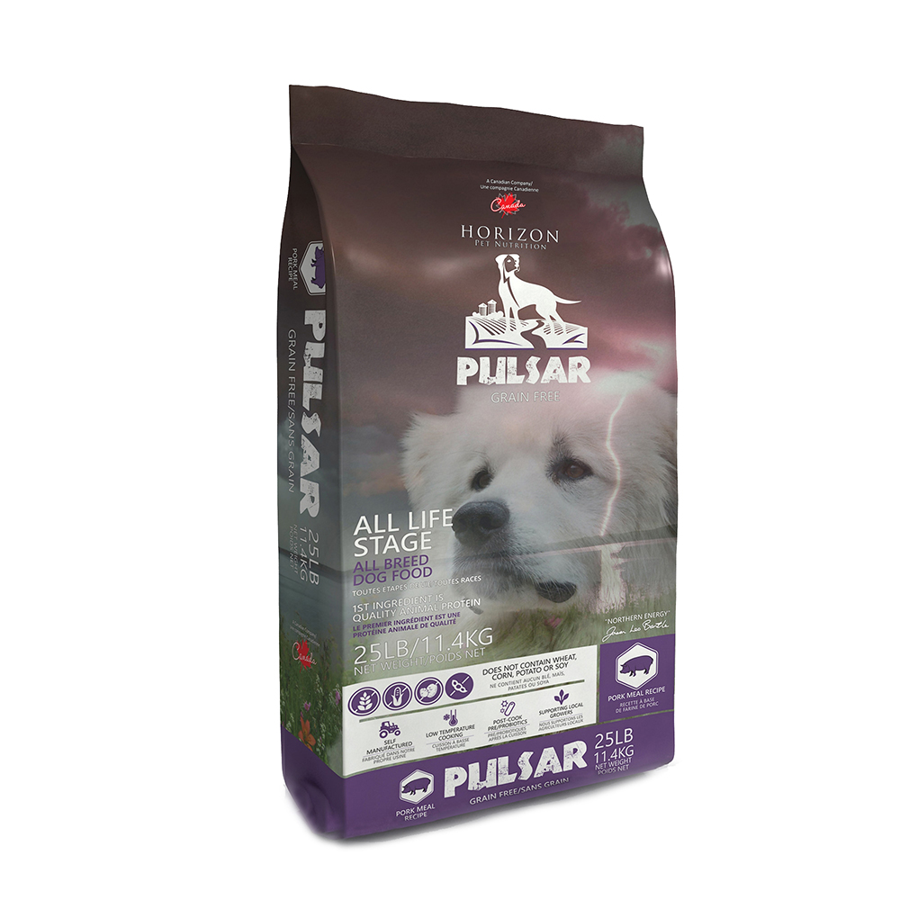 Horizon Pulsar Pork Formula Grain-Free Dry Dog Food, 25-lb