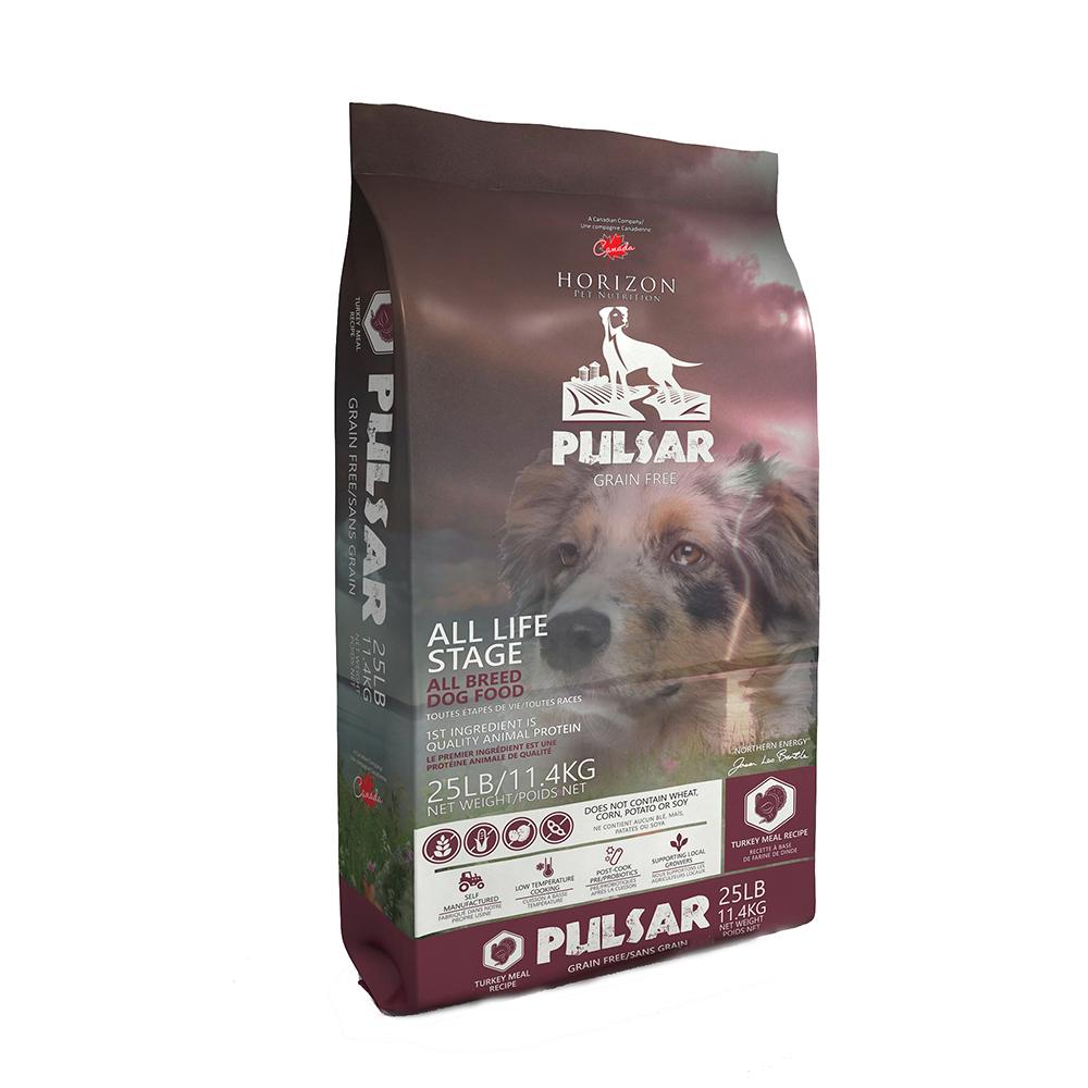 Horizon Pulsar Turkey Formula Grain-Free Dry Dog Food, 25.1-lb bag