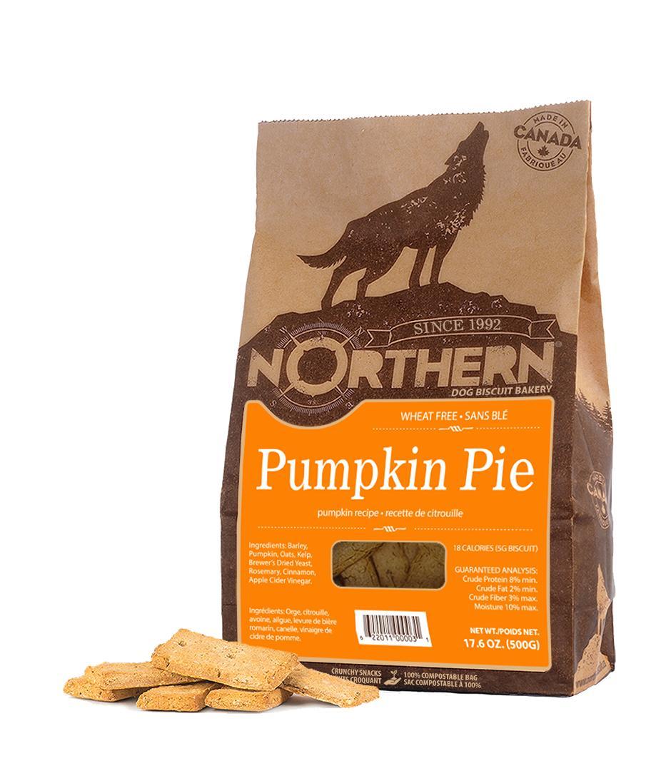 Northern Biscuit Pumpkin Pie Dog Treats, 500-gram