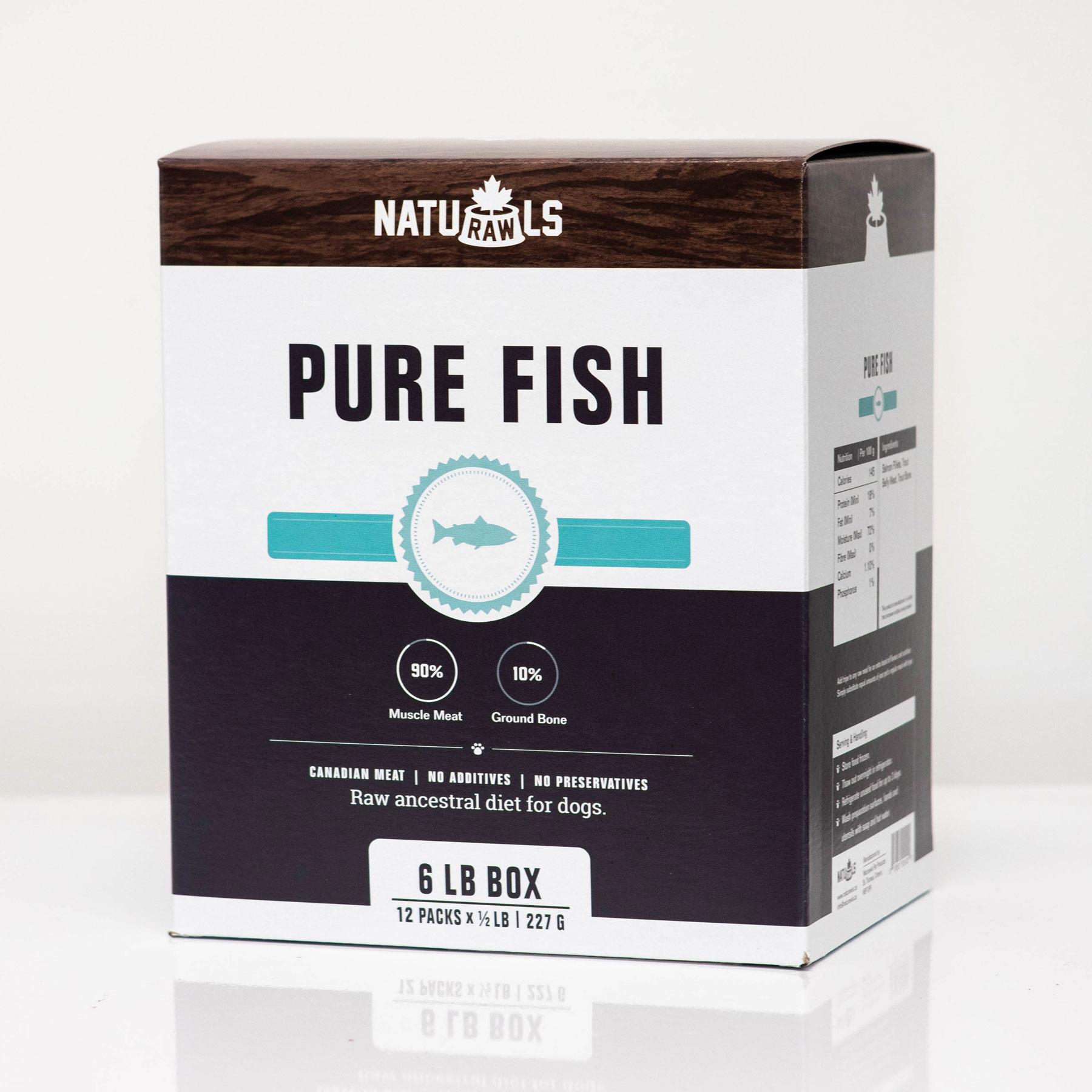 Naturawls Pure Fish Raw Dog Food Image
