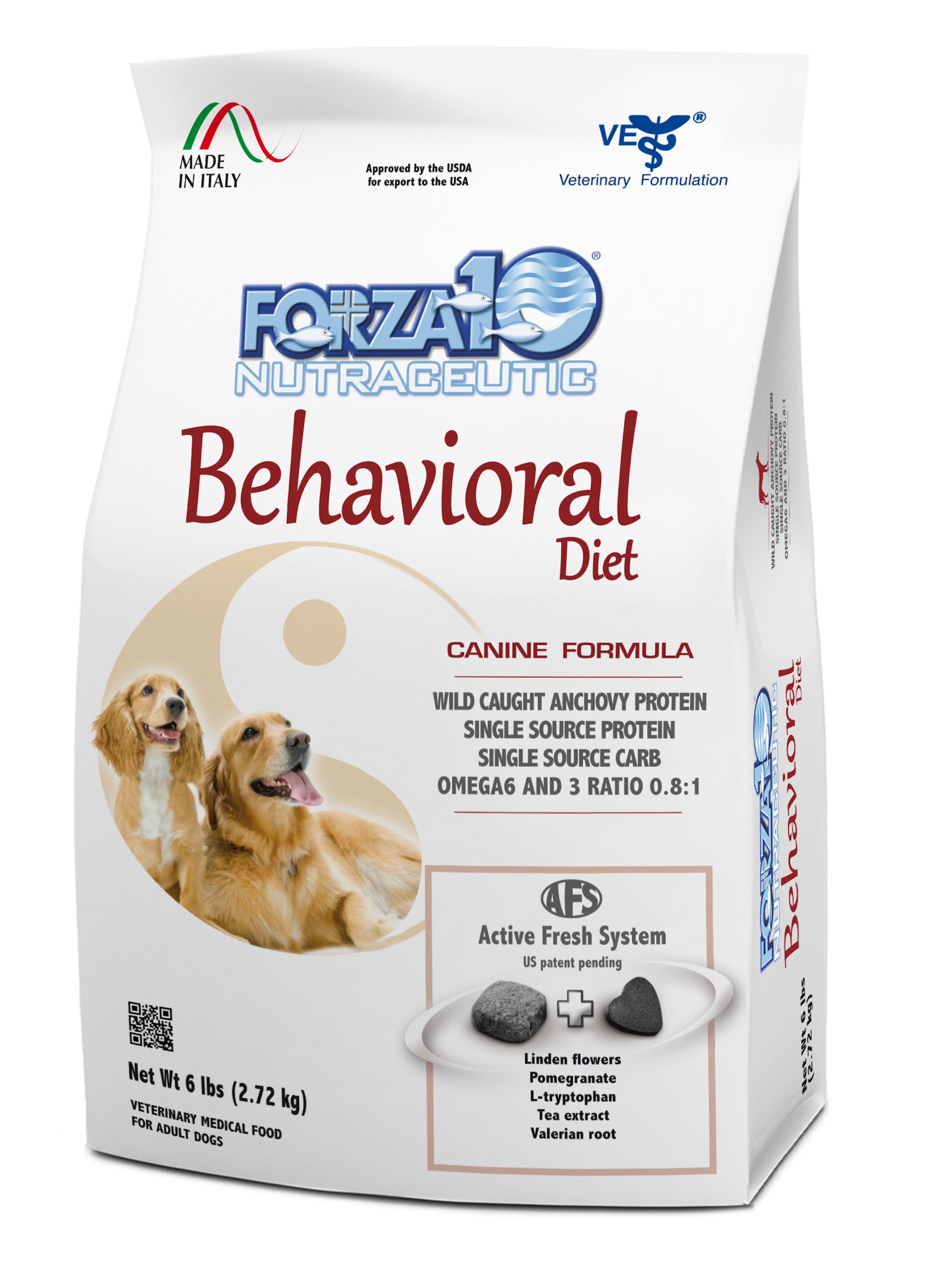 Forza10 Active Line Behavioral Diet Support Dry Dog Food, 6-lb