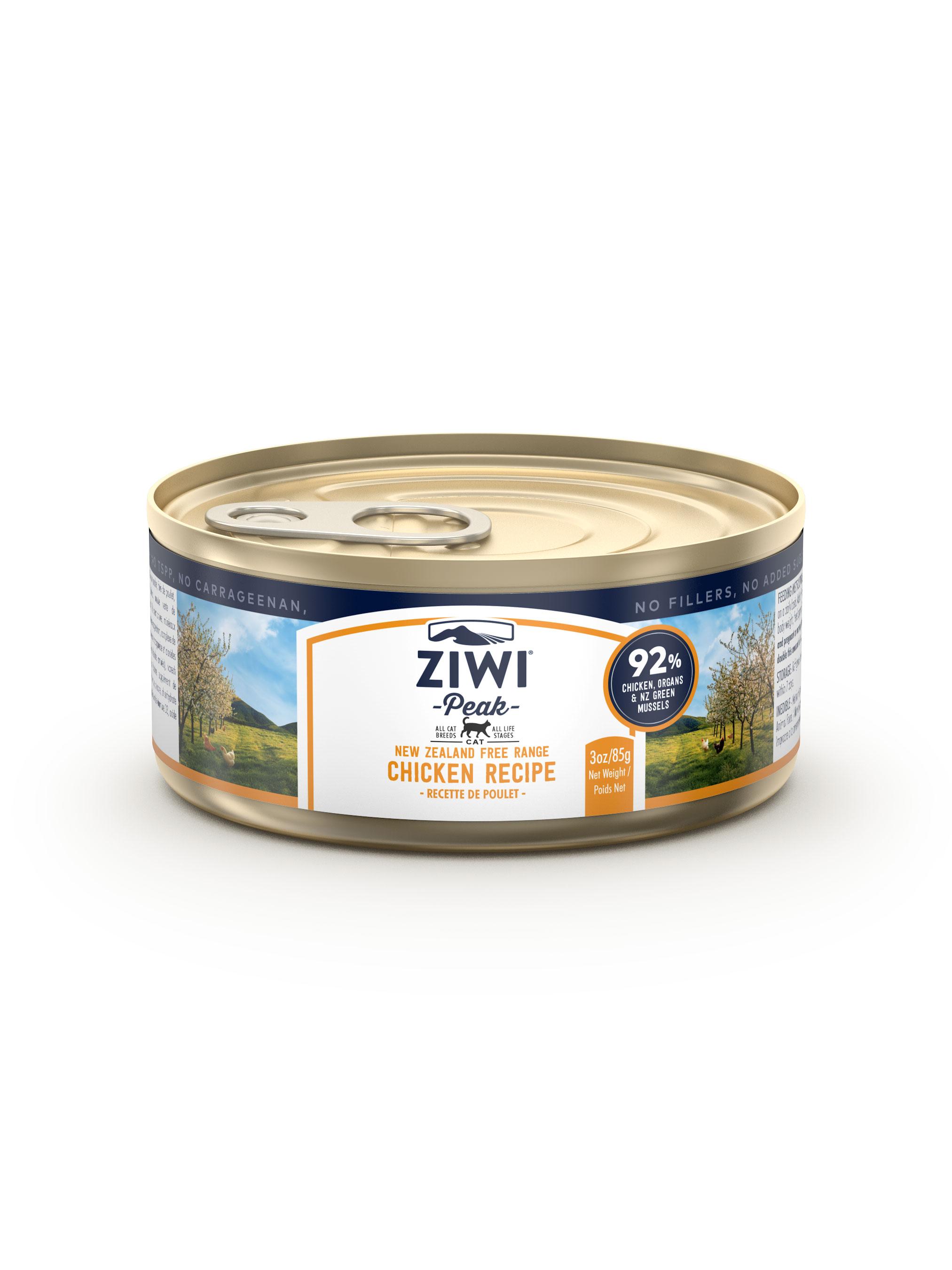 Ziwi Peak Cat Chicken Recipe Canned Cat Food Image